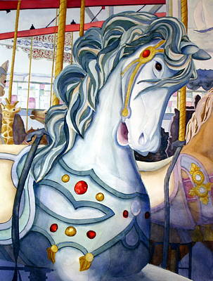 Looff Carousel Art Print