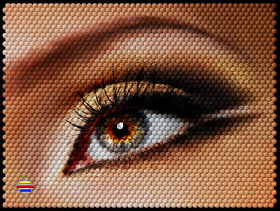 Digital Art - Look At Me by Vidka Art