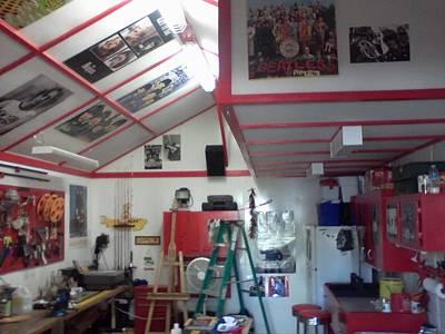 Look Inside Studio Work Shop Art Print