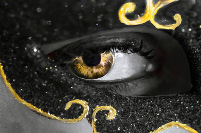 Glamour Optics Photograph - Look Into My Eyes... by Sotiris Filippou