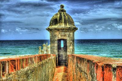 Puerto Photograph - Look Out by Dado Molina