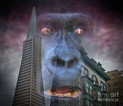 Monsters Photograph - Look Out San Francisco King Kong Is Coming  by Jim Fitzpatrick