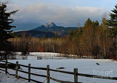 Split Rail Fence Photograph - Look To The Mountain by Mim White