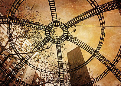 Photograph - Look Up At The City by Deborah Smith