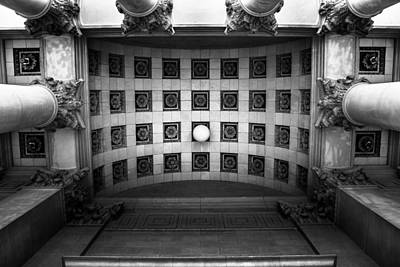 State Capitol Photograph - Look Up by Shane Holsclaw