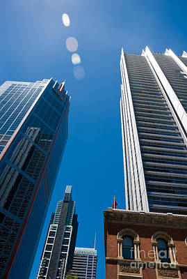 Photograph - Look Up To The Sky - Skyscrapers In Sydney Australia by David Hill