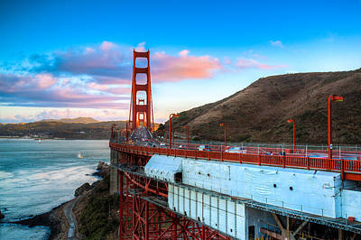 Photograph - Looking Across The Golden Gate by Mike Lee