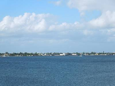 Photograph - Looking Across The Intercoastal by Ron Davidson