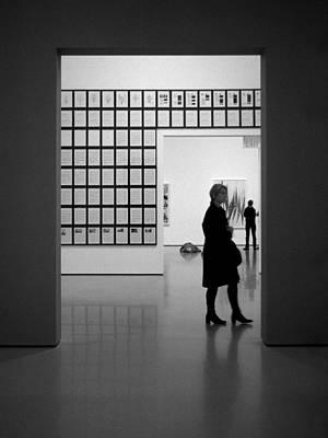 Photograph - Looking At Art by Cornelis Verwaal
