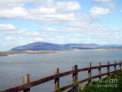 Barrow In Furness Wall Art - Photograph - Looking At Black Combe by Avis  Noelle