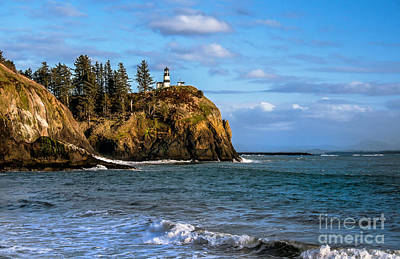 Photograph - Looking At Cape Disappointment by Robert Bales