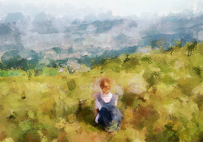 Looking At Hk From The Hills Print by Yury Malkov