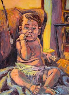 Painting - Looking At Me by Kendall Kessler
