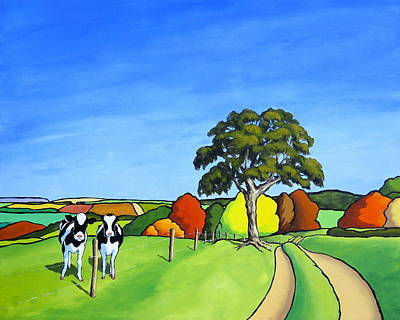 Painting - Looking At Moo by Jo Appleby