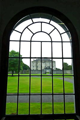 Photograph - Looking At Portumna Castle by Charlie and Norma Brock