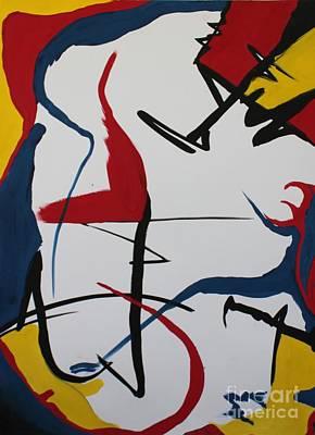 Painting - Looking At The Future by Juan Molina
