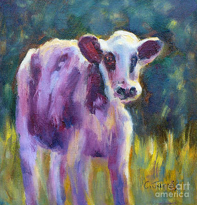 Painting - Looking At You by Carolyn Jarvis