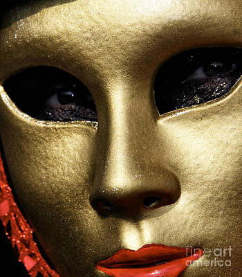 Carnevale Photograph - Looking At You by John Rizzuto