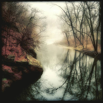 Wissahickon Photograph - Looking Back by Elena Bouvier