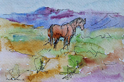 Looking Back Art Print by Karen McLain