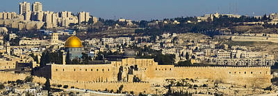 Photograph - Looking Down Into Jerusalem by Alan Marlowe