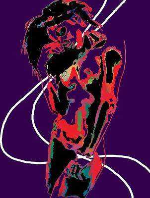 Looking Down Art Print by Manik