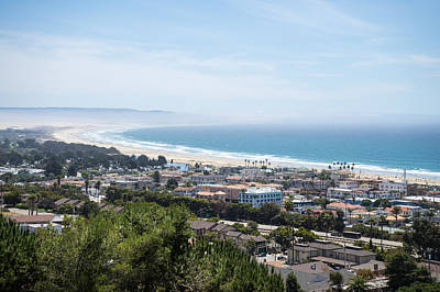 Pismo Beach Photograph - Looking Down On Pismo Beach by Priya Ghose