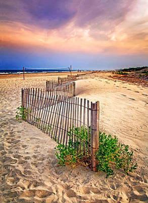 Photograph - Looking Down The Beach by Carolyn Derstine