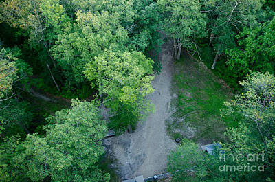 Photograph - Looking Down The Fire Tower by Cassie Marie Photography