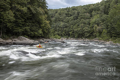 Photograph - Looking Downstream At Dimple by Jeannette Hunt