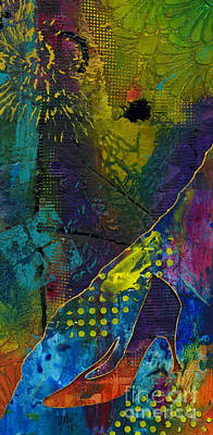Mixed Media - Looking For Cinderella by Angela L Walker