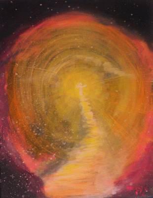 Eternal Life Painting - Looking For Eternity  by Deyanira Harris