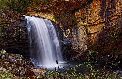 Photograph - Looking Glass Falls Brevard Nc by Bob Pardue