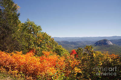 Photograph - Looking Glass Rock In The Fall by Jill Lang