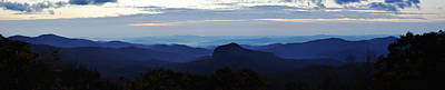 Photograph - Looking Glass Rock Overlook by Craig T Burgwardt