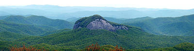 Photograph - Looking Glass Rock Panoramic View In The Spring by Duane McCullough