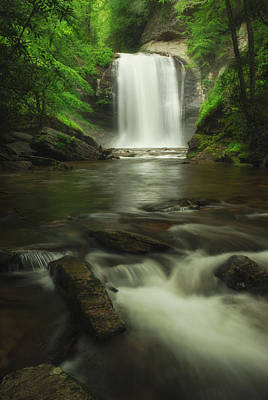 Photograph - Looking Glass Waterfall In Colour by Photography  By Sai