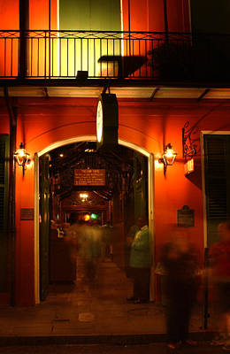 Photograph - Looking In Pat O'brien's by Greg Mimbs