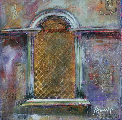 Grate Mixed Media - Looking Into Italy by Lynn Chatman