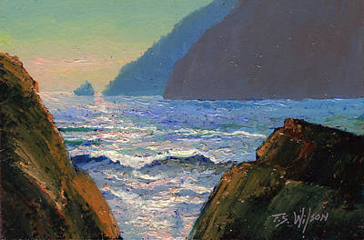 Painting - Looking North by Frank Wilson