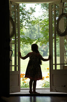 Looking Out My Front Door Photograph by Susan Bordelon