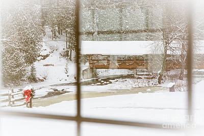 Photograph - Looking Out Of The Window by Cheryl Baxter