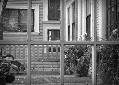 Photograph - Looking Out Or Looking In by Patricia Strand