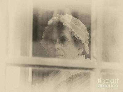 Photograph - Looking Out Through The Window by Terry Rowe
