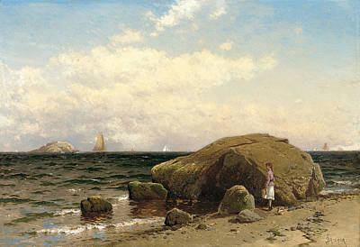 Painting - Looking Out To Sea  by Alfred Thompson Bricher