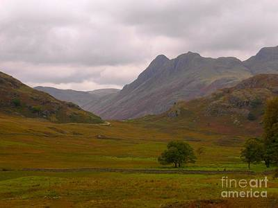 Photograph - Looking Over Wasdale by Joan-Violet Stretch