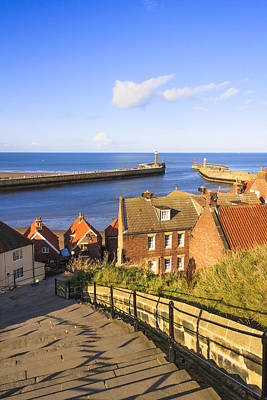 Photograph - Looking Over Whitby by Susan Leonard