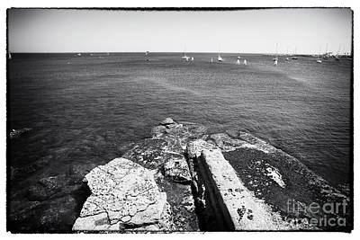 Photograph - Looking Past The Rocks by John Rizzuto