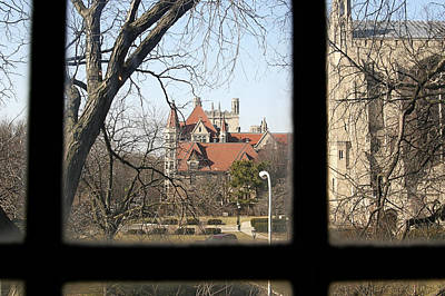 Photograph - Looking Past The Window  by Eugene Bergeron