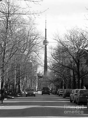 Photograph - Looking South To The Cn Tower by Nina Silver